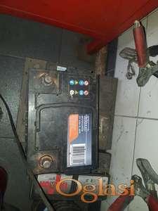 Polovan akumulator 12V  55Ah  480A, sa garancijom
