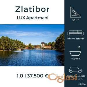 LUX Apartmani na Zlatiboru u izgradnji