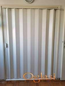 PVC harmonika vrata