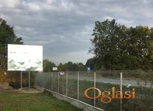 Bilbord se izdaje ,kod aerodroma Morava Ladjevci