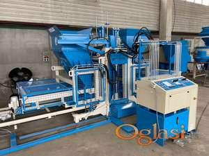 VPS-2000 Masina za proizvodnju betonskih elemenata (behaton, blok, ivicnjak...)
