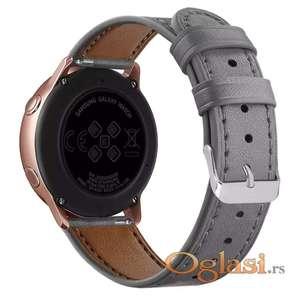 Narukvica Samsung Galaxy Watch Active (kozna siva)