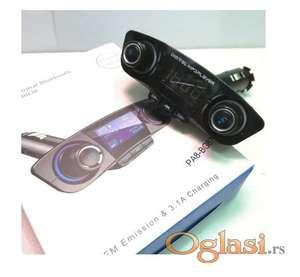 FM transmiter Mp3 player Auto punjac SD/USB/BLUETOOTH/CALL