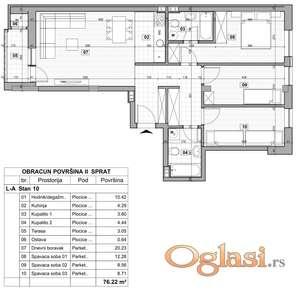 KLISA, 76 m2, 94150 EUR