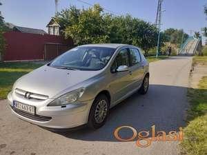 Peugeot 307 2002. 2,0gas reg 11.21.