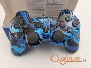 Dzojstik za Sony PS3 bezicni PS3 Dzojstik Plavo Crni