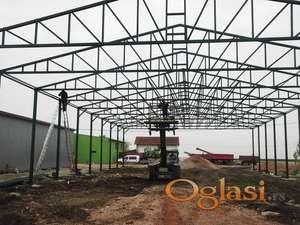 metalna konstrukcija hala,hangara,supa,skladista