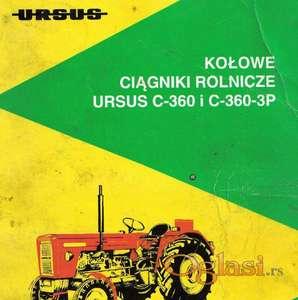 Ursus C360 - Radionički priručnik