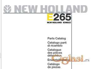 New Holland E265 bager - Katalog delova