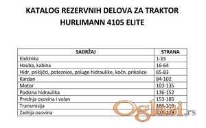 Hurlimann 4105 Elite - Katalog rezervnih delova