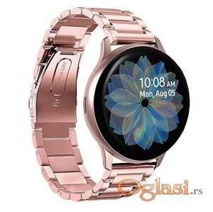 Rose pink metalna narukvica za Samsung smart watch