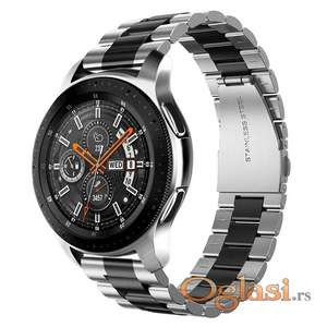 Metalna narukvica 22mm za Galaxy Watch 46 Frontier S3 Huawei Watch GT 2