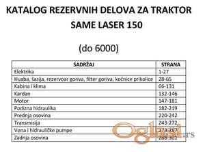 Same Laser 150 - Katalog delova