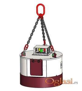 Magneti s integriranom baterijom EMG-serija | 550 do 950 kg | Hydraram