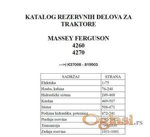 Massey Ferguson 4260 - 4270 Katalog delova