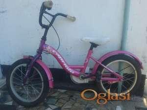 Deciji bicikl za devojcice marke ^Capriolo^ 4500 dinara