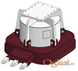 Hidraulični magnet HMG-serija | 780 do 3000 kg | Hydraram